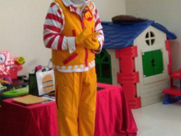 Visita de Ronald McDonalds