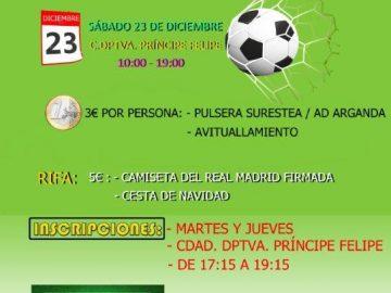 Torneo Benéfico de Futbol a favor de SuresTEA